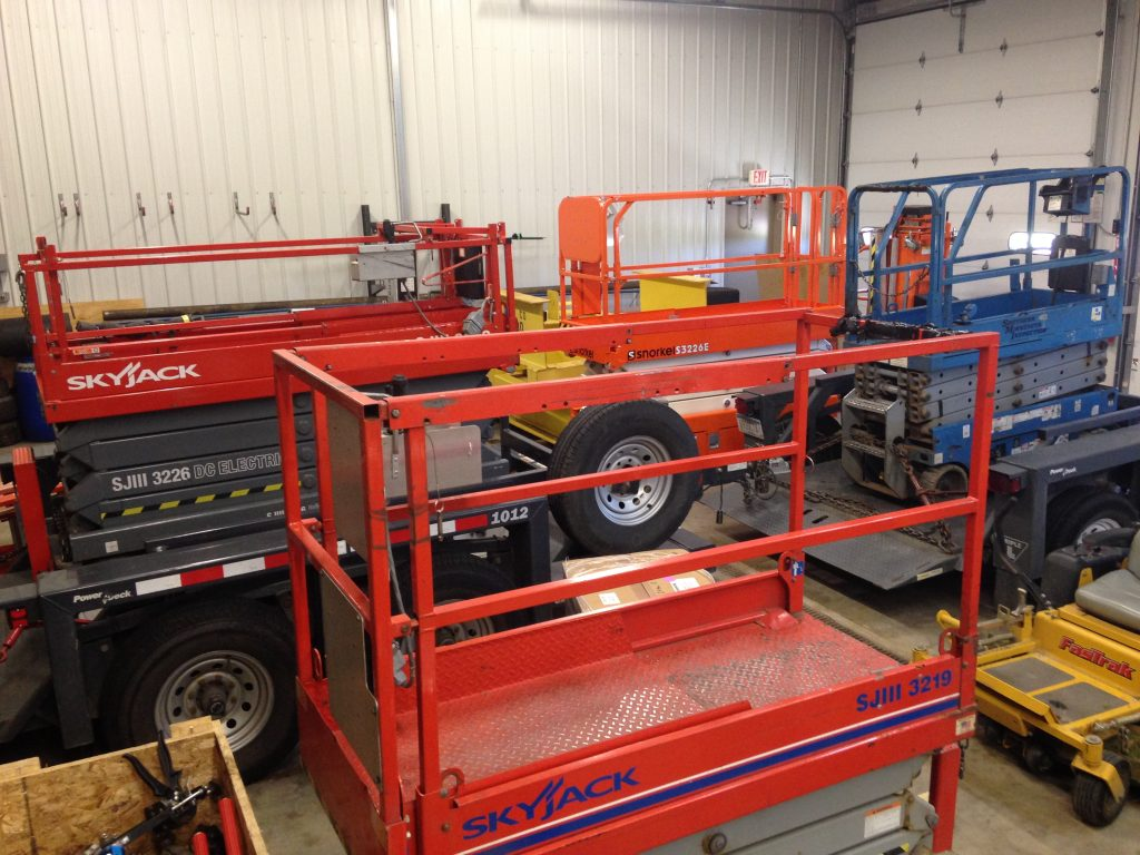 aerial lift inspections