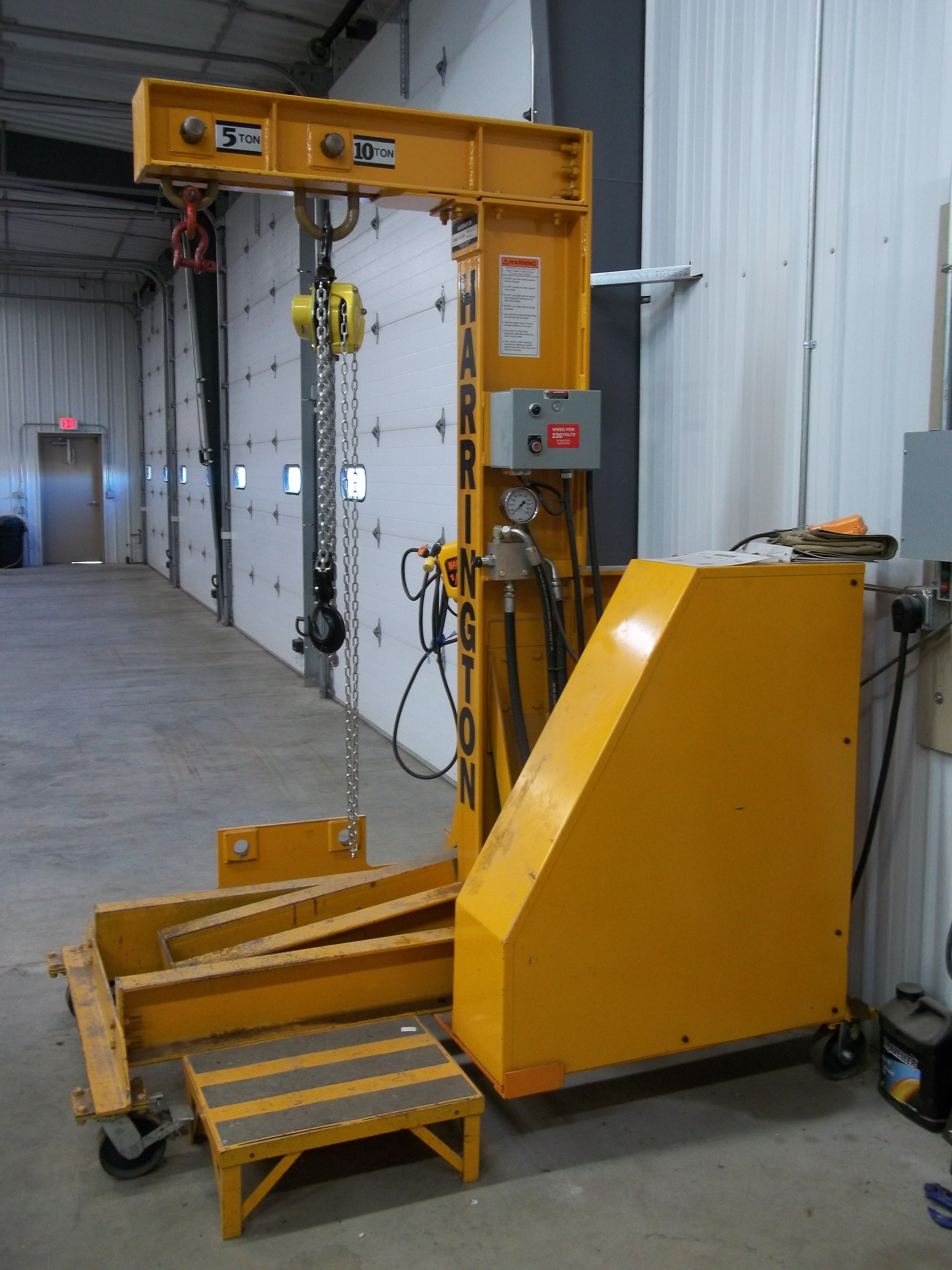 Dynamic Load Testing : Overhead lifting services southern minnesota inspection