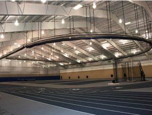 radius fold up gym curtain field house