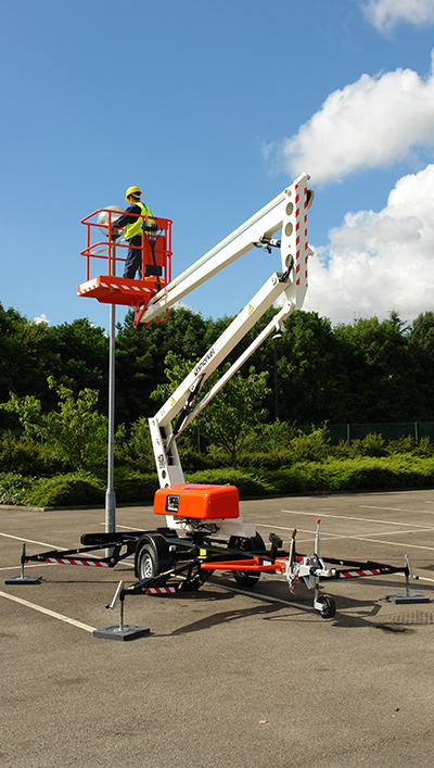 Snorkel Towable Trailer Boom Lifts Southern Minnesota Inspection