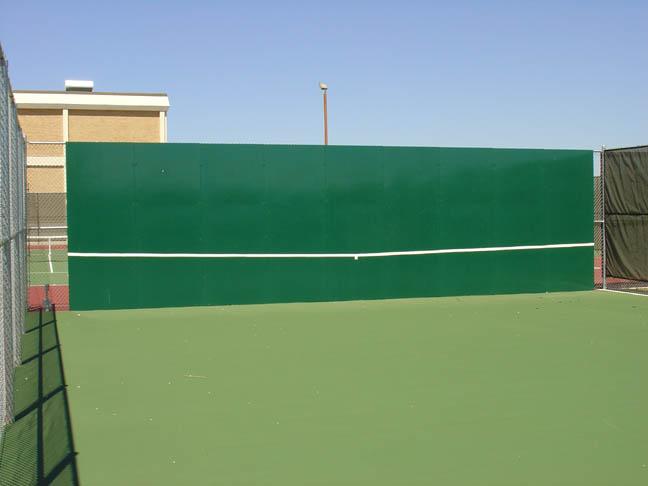 Tennis Court Equipment And Tennis Backboard Hitting Walls