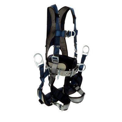 3M™ DBI-SALA® ExoFit™ Plus Comfort-Style Tower Climbing Harness 1140067,  Small, Blue, 1 EA