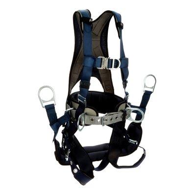 3M™ DBI-SALA® ExoFit™ Plus Comfort-Style Tower Climbing Harness 1140093,  Large, Blue, 1 EA