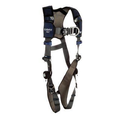 3M™ DBI-SALA® ExoFit NEX™ Plus Comfort Vest-Style Climbing Harness 1140108,  X-Small, Gray, 1 EA